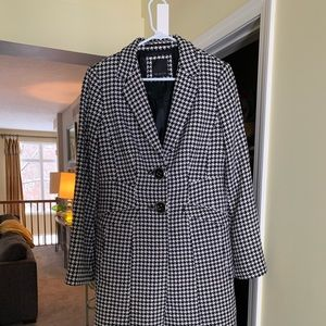 Black and white houndstooth jacket by The Limited